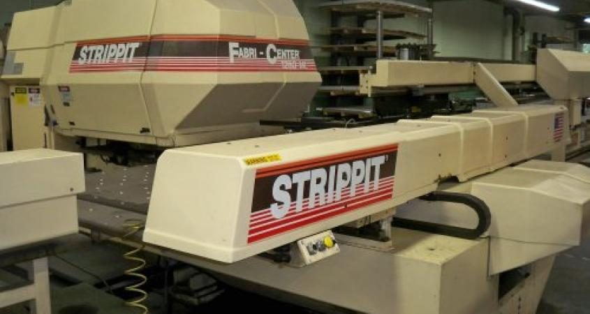 CNC Strippit 1250 Turret Press