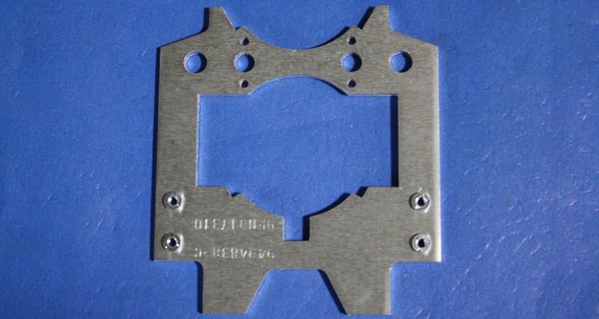 Laser cut bracket